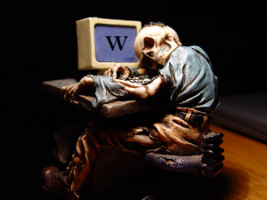 Waiting for help from Wikipedia